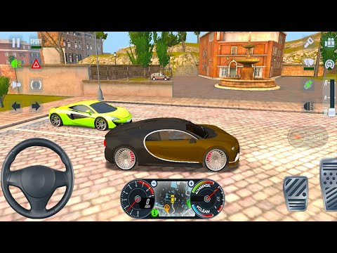 taxi-sim-2020-#21---new-bugatti-veyron-unlocked-rome-city-drive-android-gameplay