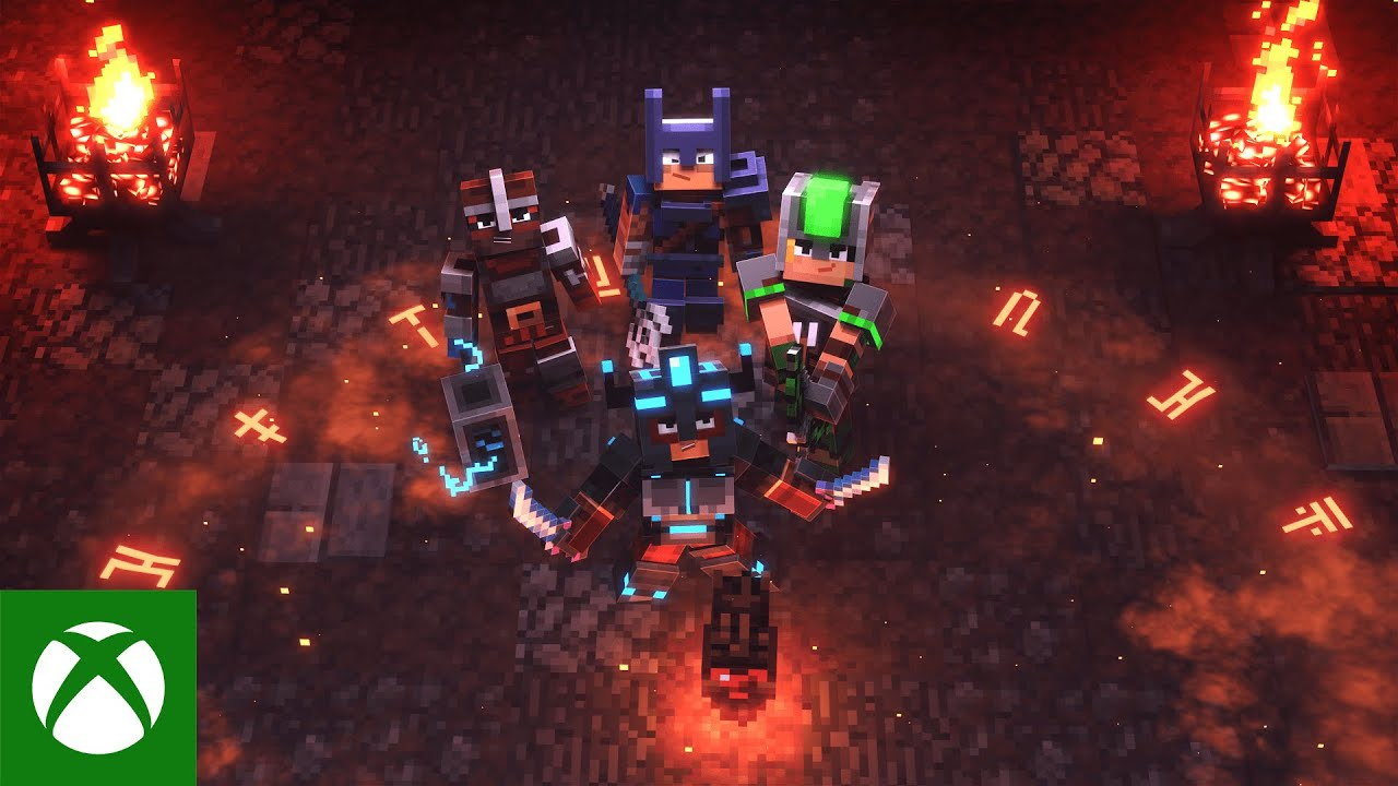 Minecraft Dungeons: Crossplay now available for PS11, Xbox One
