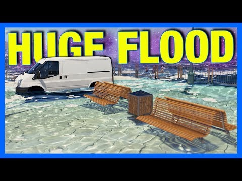 Forza Horizon 3 : HUGE FLOOD!!