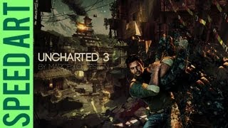 Uncharted 3 Speed Art - You want more? Free Download link!