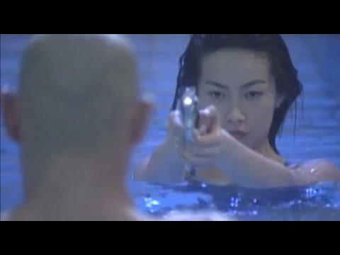 120. Woman with gun and revolver (English) Zero woman the hunted