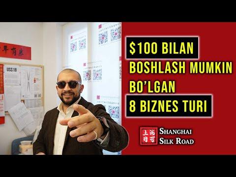 QAYSI BIZNESNI BOSHLAGAN YAXSHI? - $100 BILAN BOSHLASH MUMKIN BO'LGAN BIZNESLAR | Jasur Mavlyanov