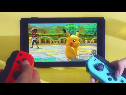Pokemon Let's Go! Pikachu with Pokeball Plus - Video
