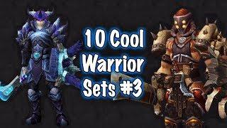 Jessiehealz - 10 Cool Warrior Transmog Sets #3 (World of Warcraft)