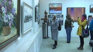 На областной художественной выставке в Тамбове 60 авторов представили свои работы