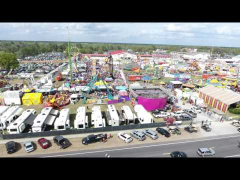 (4k) Strawberry Festival Plant City  2017