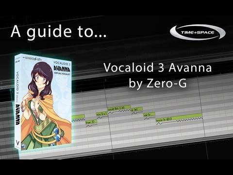 Zero-G Vocaloid 3 Avanna virtual vocalist