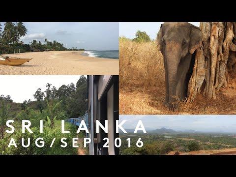 TRAVELLING ACROSS SRI LANKA! VLOG | AUG - SEP 2016