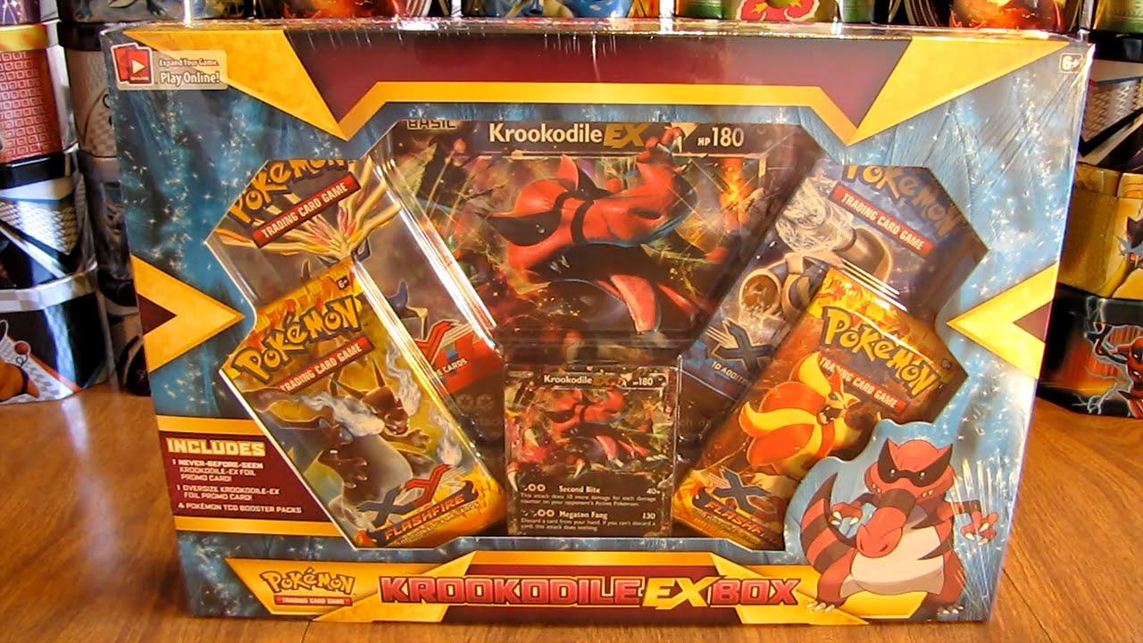 Pokemon Krookodile Ex Box Opening Youtube