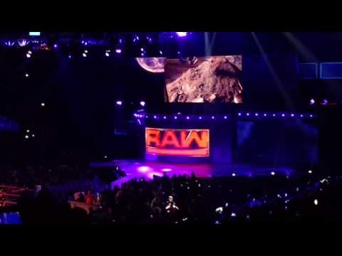 WWE Raw: The Undertaker confronts Roman Reigns - 3/27/2017