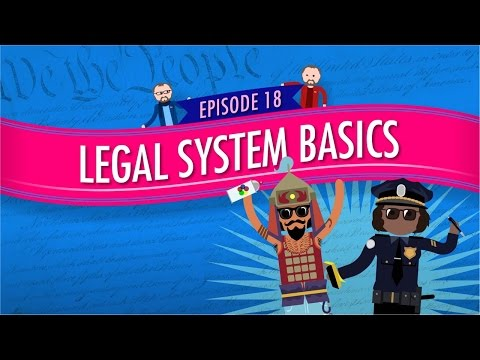 Legal System Basics: Crash Course Government and Politics #1
