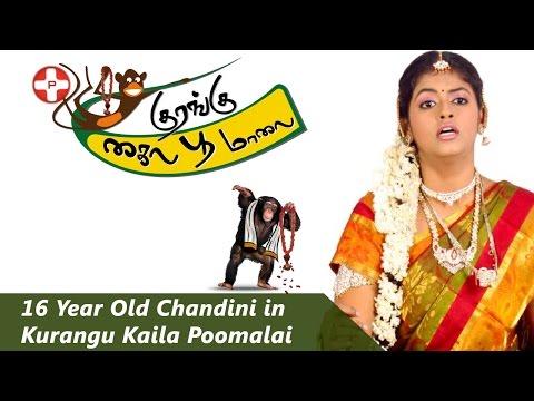 16 Year Old Chandini in Kurangu Kaila Poomalai | Actress Chandini | Goli Soda | 10 Endrathukulla