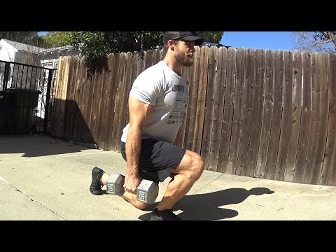 Home Workout Routine - Legs - Dumbbell Only