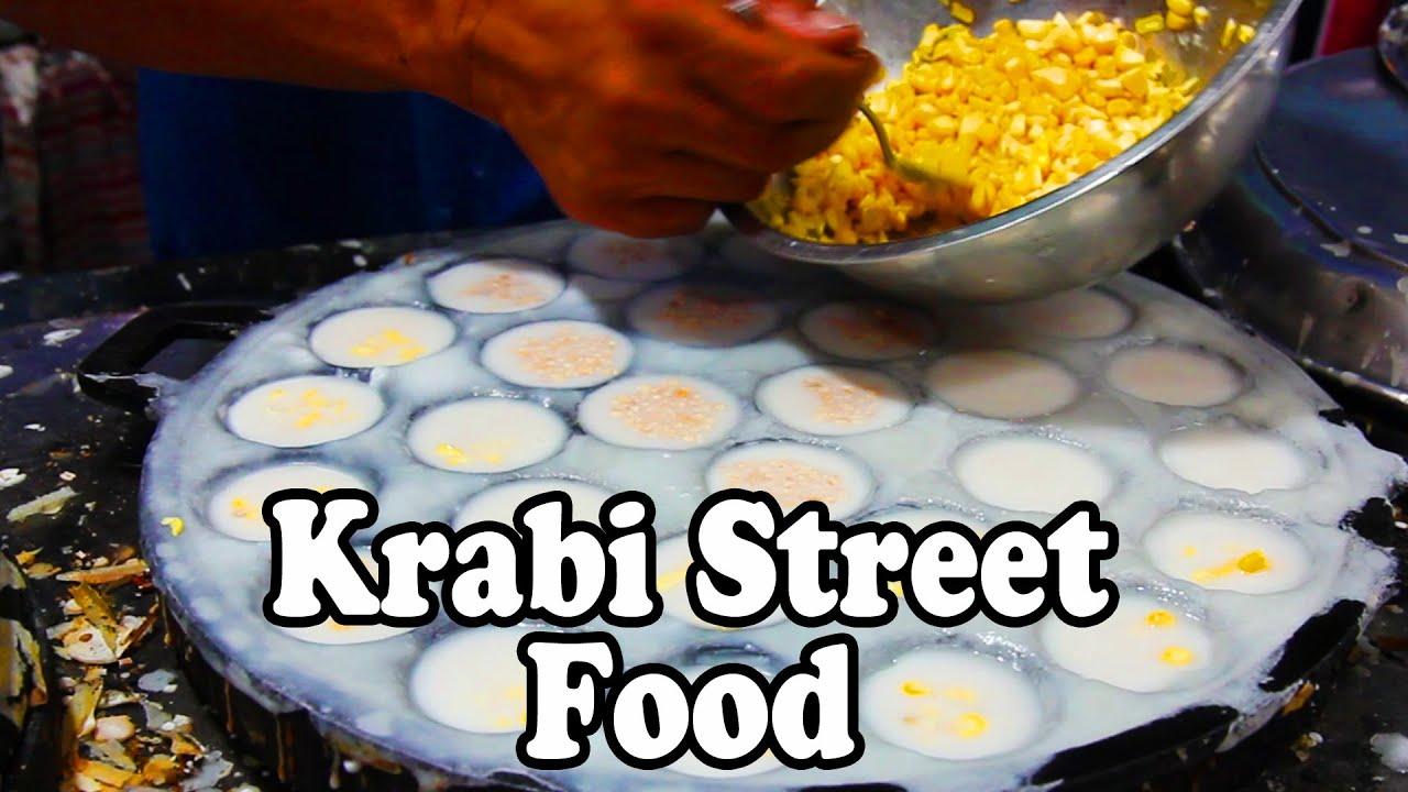 Krabi Walking Street Night Market Street Food Thai Street Food Tour In Thailand