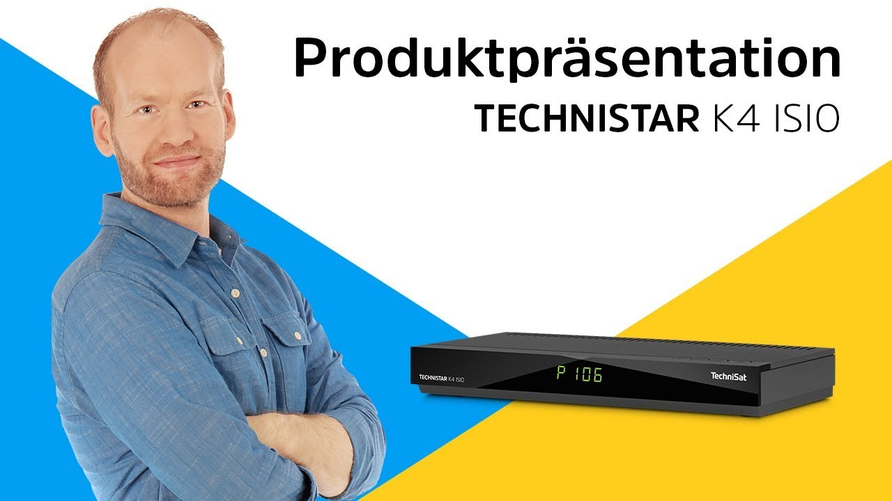 Video: TECHNISTAR K4 ISIO | Smart-Receiver mit vierfachem Kabeltuner. | TechniSat
