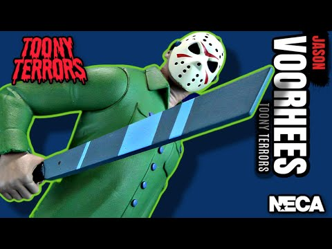 NECA Toony Terrors Friday The 13th Jason Voorhees | Video Review #HORROR
