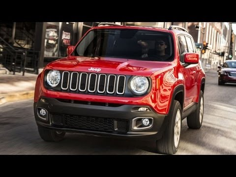Jeep Compact SUV Renegade Spied !