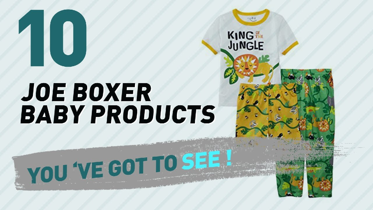 65f0bcfbd186 Joe Boxer Baby Products Video Collection    New   Popular 2017 - YouTube