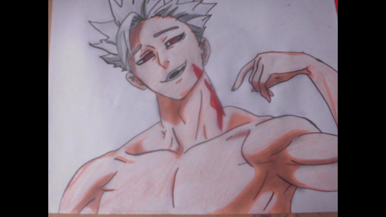 Dibujo De Anime 7 Pecados Capitales