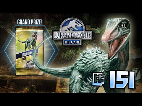Full Troodon Event! || Jurassic World - The Game - Ep 151 HD