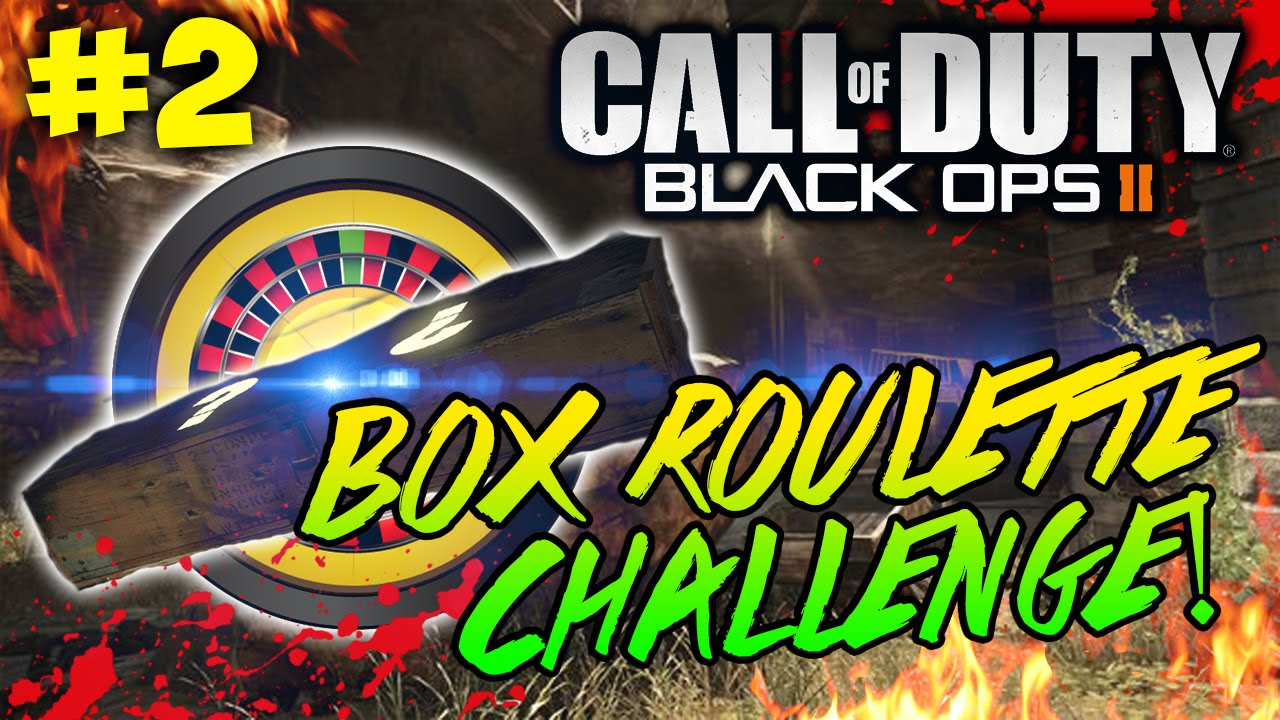 Box roulette challenge on buried part bo zombies