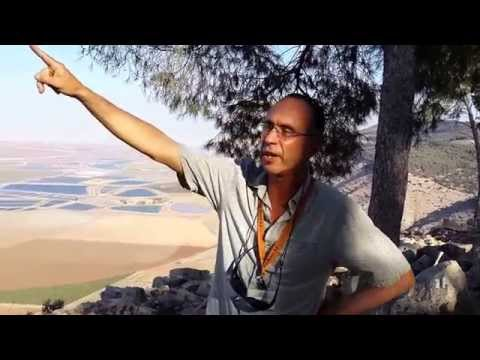 Israel Private  Tour Guide at the Gilboa