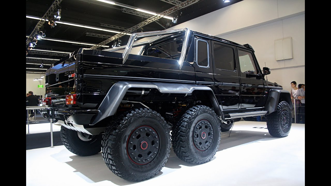 G63 Amg 6X6 >> MONSTER: The Brabus B63S 700 6x6! - IAA Frankfurt 2013 ...