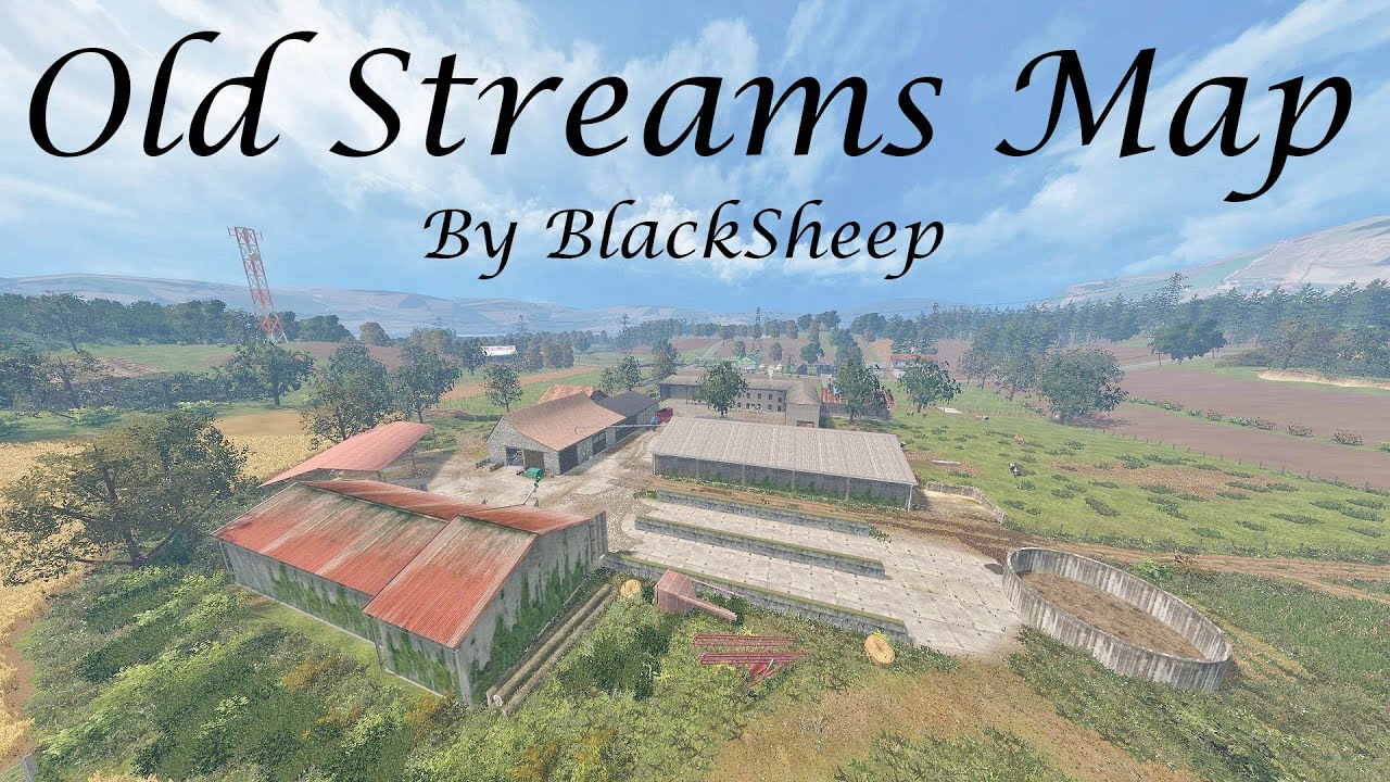 Old Streams Map