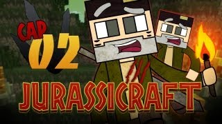 """Soy Un Desastre!!"" JURASSICRAFT! Episodio 2 