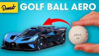 Bugatti's New Golf Ball Aero Explained