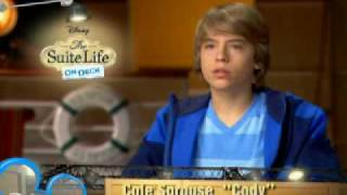 The Suite Life on Deck - On Set with Dylan and Cole Sprouse #2 | Official Disney Channel UK