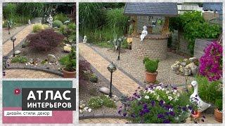 видео Ландшафтный дизайн загородного дома: красивый ландшафт и благоустройство участка своими руками
