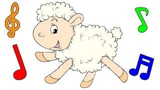 Canção de ninar para o bebê - ovelhas pulando - mãe canta - relaxar - sonhar