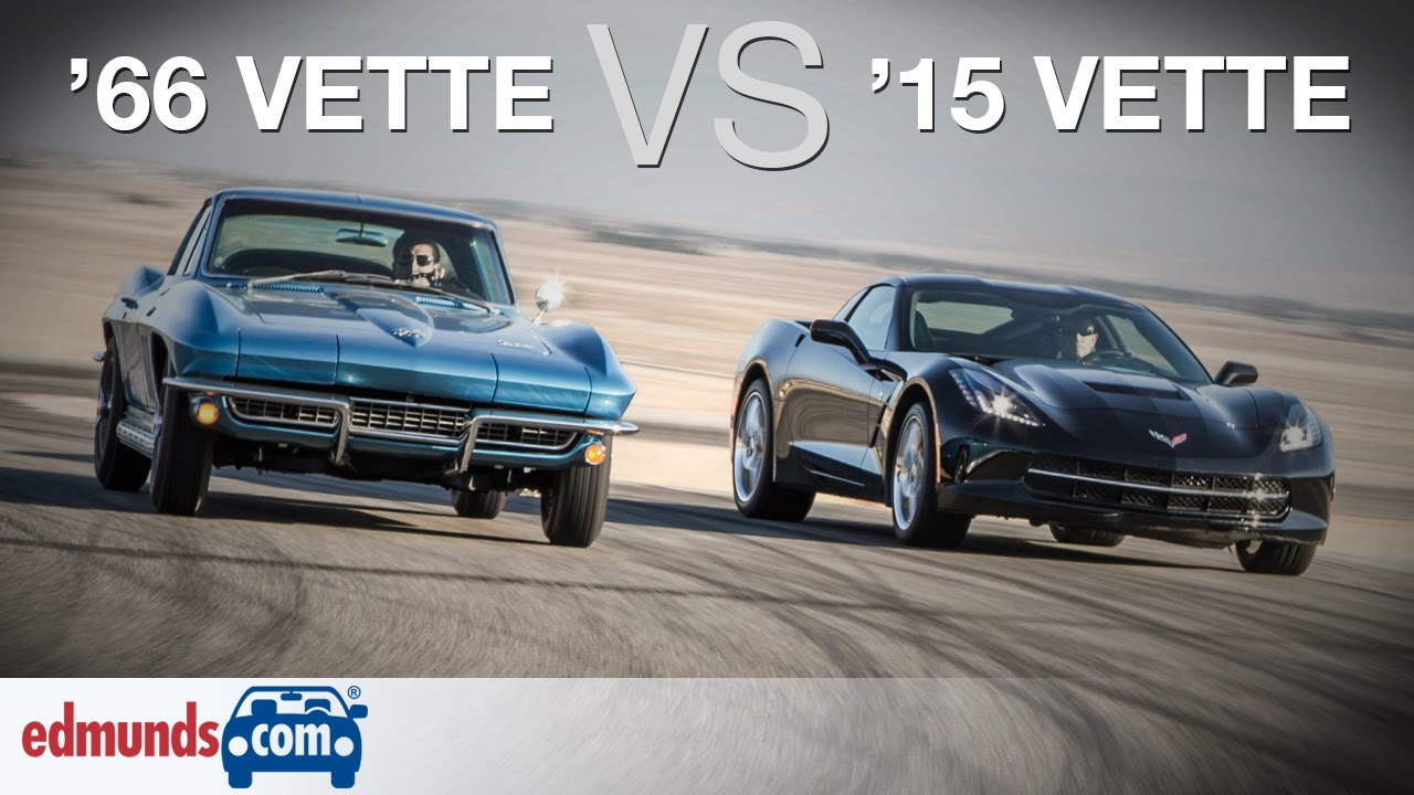 Chevrolet Corvette Stingray: 1966 vs. 2015 | A Comparison 50 Years in the Making - YouTube