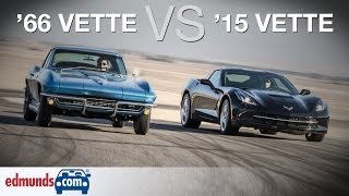 Video Chevrolet Corvette Stingray: 1966 vs. 2015  | A Comparison 50 Years in the Making download MP3, MP4, WEBM, AVI, FLV April 2018