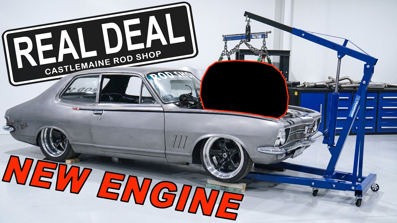 Real Deal gets a new engine | Heath's Excited!!