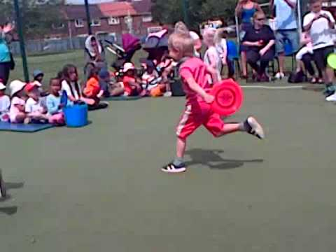 Keira Kirby school sports day.