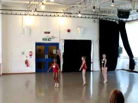 RAD Ballet London Scholarships Grade 2 Study Sallie Lewis Award (8th May 2011)