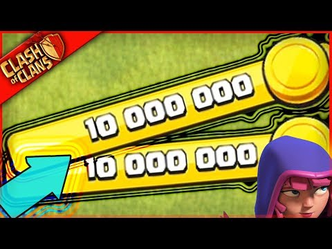 WHAT TO DO WITH 10,000,000 GOLD in Clash of Clans!?!