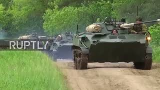 Russia: 300,000 troops take part in biggest ever 'war games'