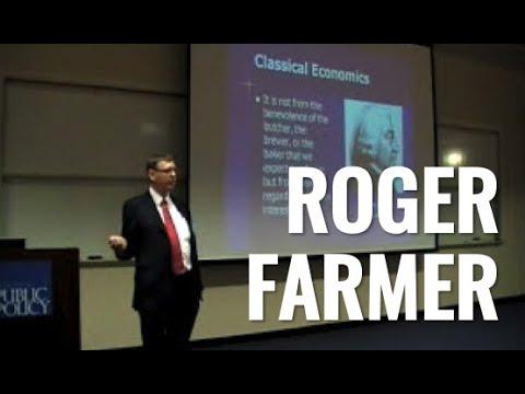 "1 of 5: Roger Farmer: ""How the Economy Works"""