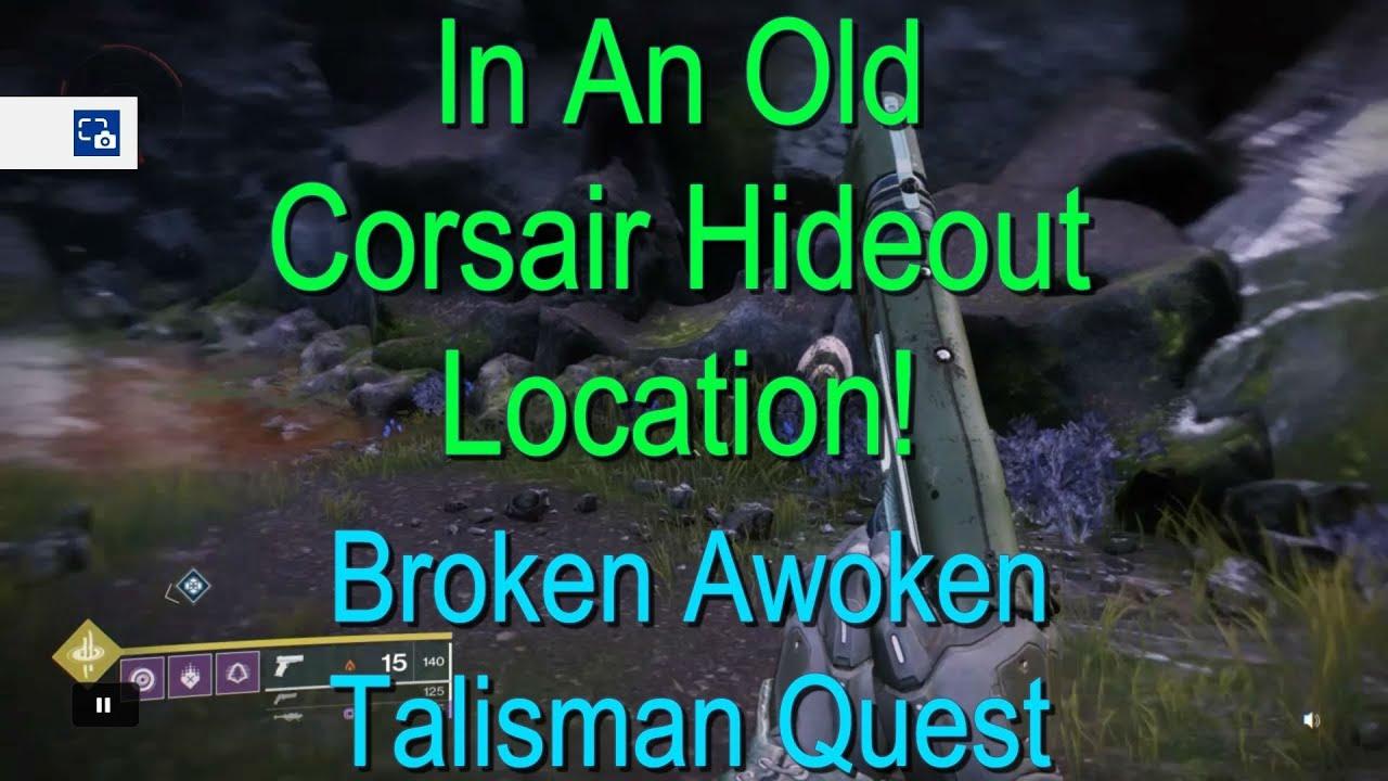 D Forsaken In An Old Corsair Hideout Location