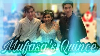 THANK YOU SO MUCH MUFASA FOR LETTING ME COME TO YOUR QUINCE SORRY I...