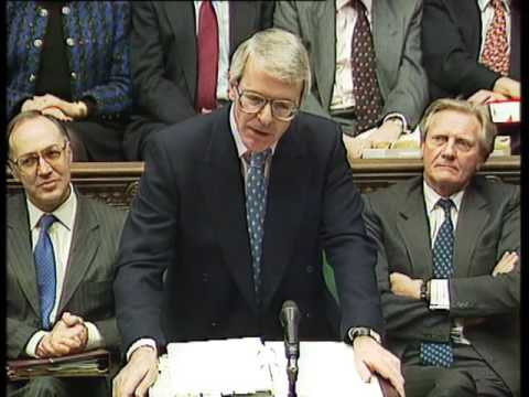 John Major's last Prime Minister's Questions: 20 March 1997