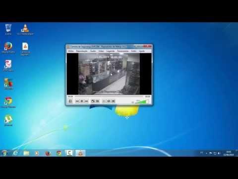 Como abrir arquivo .264 (DVR) no Windows (Utilizando o VLC Player)