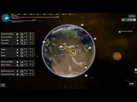 Interplanetary Alpha Gameplay Trailer #1 [Turn-based-strategy-artillery game for PC, Mac and Linux]