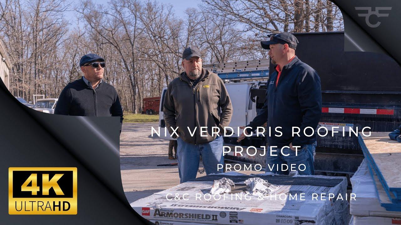"C & C  Roofing & Home Repair / J. ""Nix"" Seago Roofing Progression & Highlights - 4K UHD"