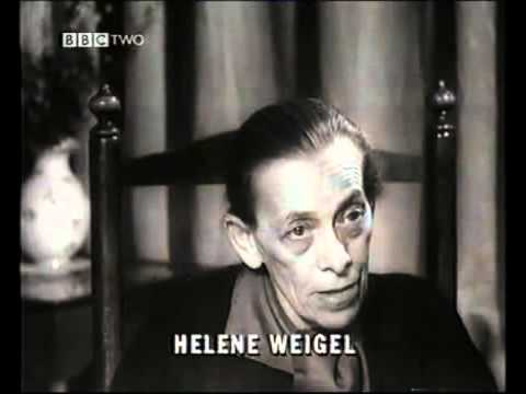 Brecht in Theory - Helene Weigel on Epic Theatre