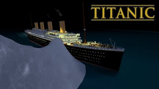 The sinking of titanic | roblox cinematic movie