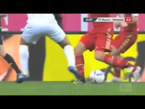 Sir Robben Took A Dive